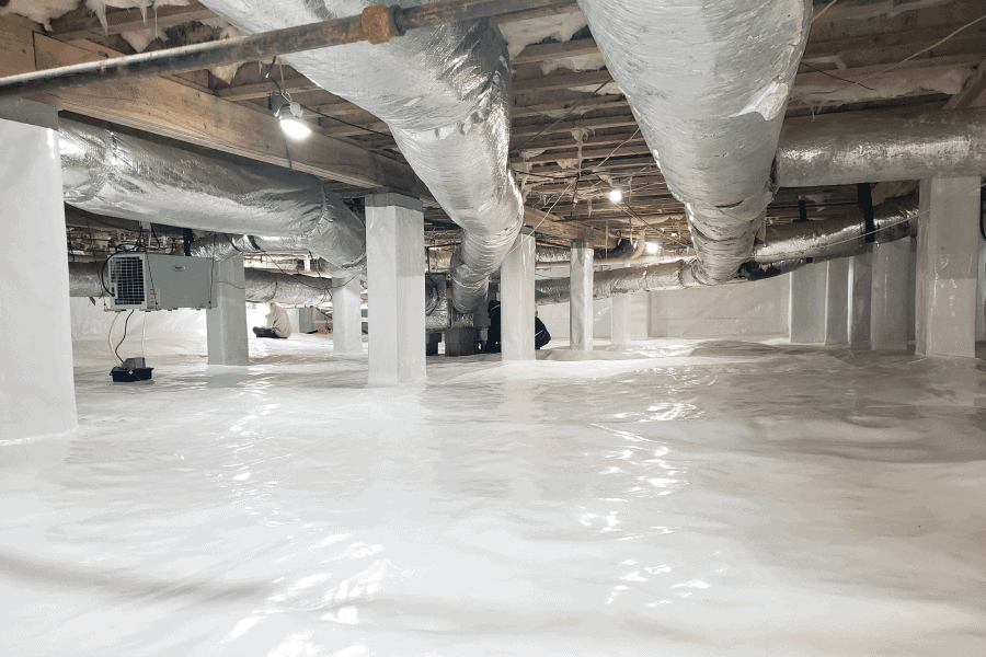 Crawlspace Encapsulation by Scout's Pest Control in Greenville,SC #1