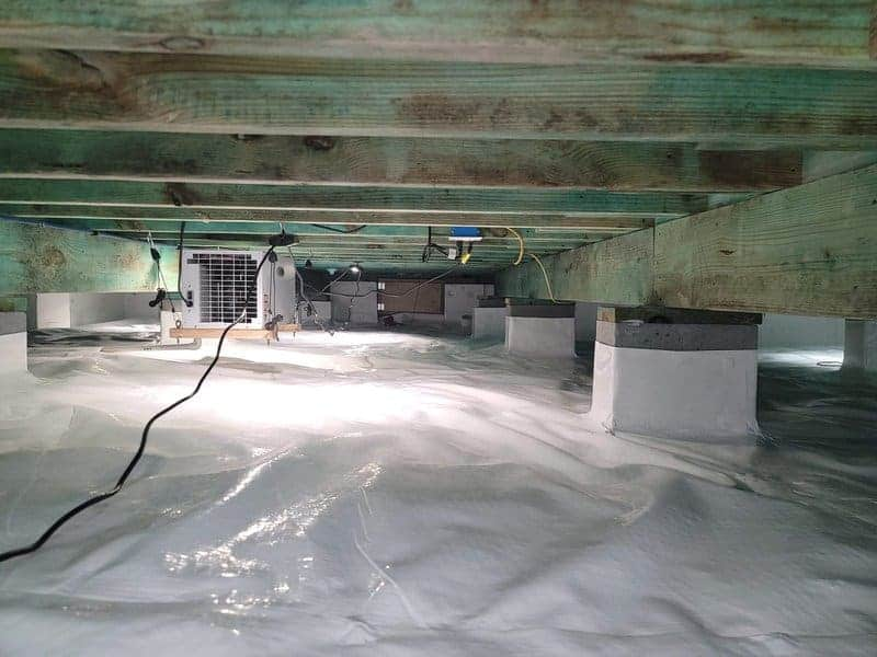 crawl space dehumidifier installation